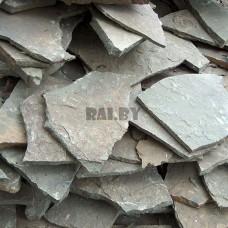 Камень песчаник Ландшафтный серо-зеленый 1-4 см