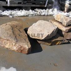 Камень песчаник Ландшафтный радужный