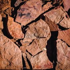 Песчаник Дракон терракотово-красный
