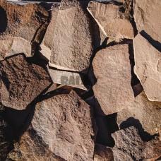 Песчаник Фонтанка терракотово-красная 2-4 см