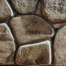 Песчаник серо-зеленый обвалованный