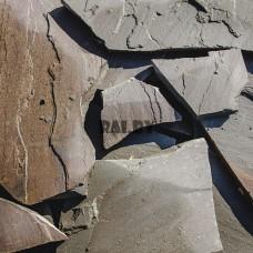 Песчаник серо-зеленый плаха, 4см