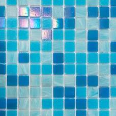 Стеклянная мозаика Blue Lux